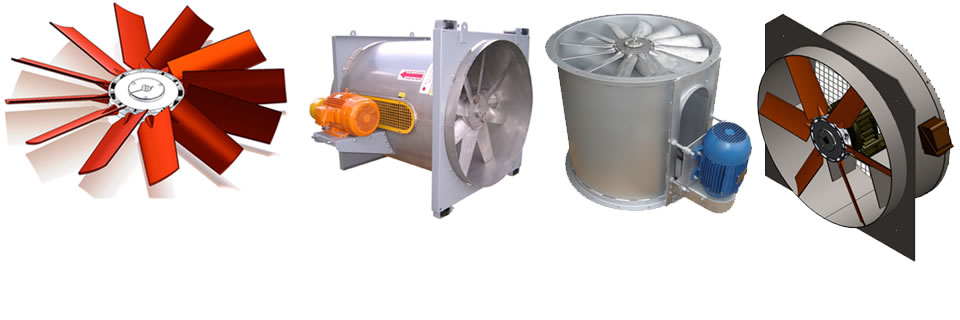 industrial fan fabrication