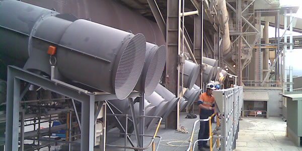 kiln low noise cooling fans
