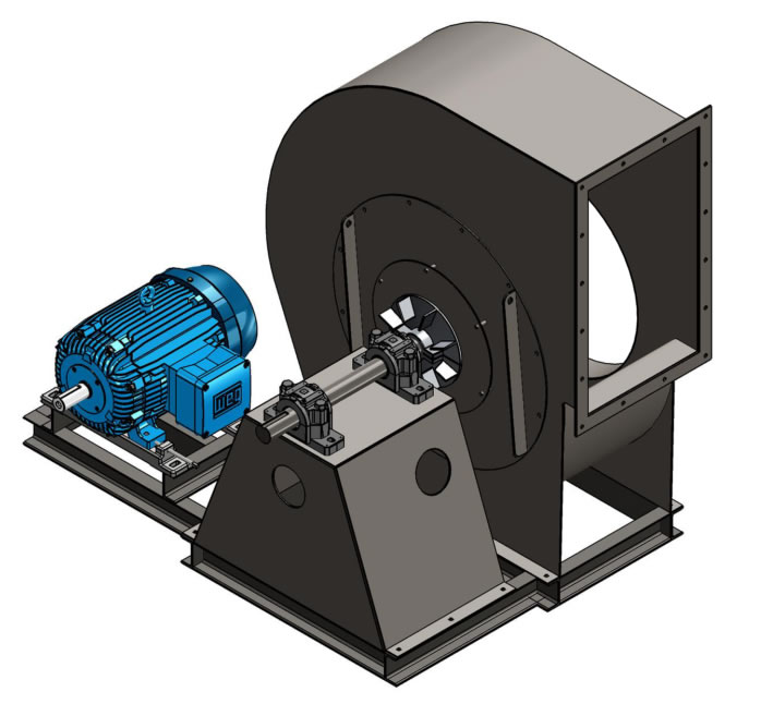 Combustion Blower Fans Industrial Fans Morse Air Systems